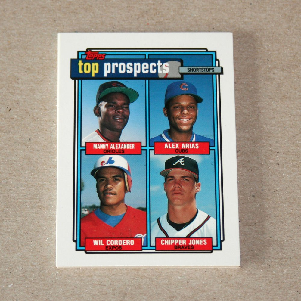 1992 TOPPS BASEBALL - Prospects Complete Sub-Set