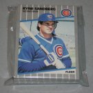 1989 FLEER BASEBALL - Chicago Cubs Team Set