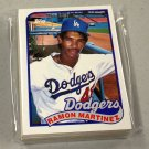 1989 TOPPS BASEBALL - Los Angeles Dodgers Team Set + Traded Series