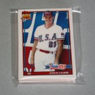 1991 TOPPS TRADED BASEBALL - Team USA Complete Set