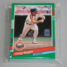 1991 DONRUSS BASEBALL - Houston Astros Team Set