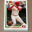 1991 UPPER DECK BASEBALL - Cincinnati Reds True Team Set (Low/High/Final)
