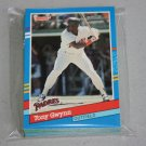 1991 DONRUSS BASEBALL - San Diego Padres Team Set