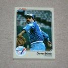 1983 FLEER BASEBALL - Toronto Blue Jays Team Set
