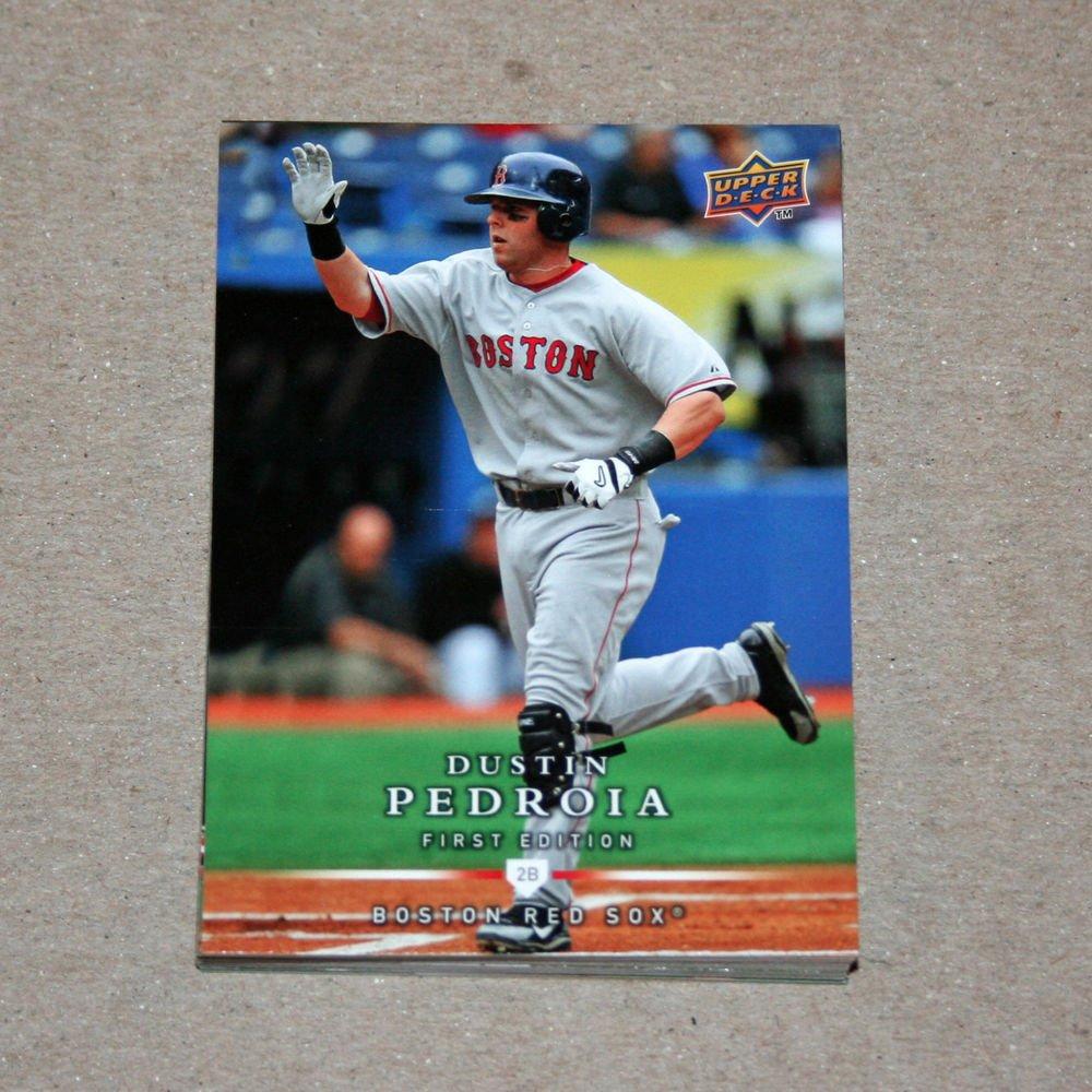 2008 UPPER DECK BASEBALL - Boston Red Sox Team Set (Series 1 & 2)