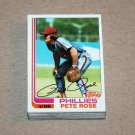 1982 TOPPS BASEBALL - Philadelphia Phillies Team Set + Traded Series
