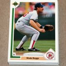 1991 UPPER DECK BASEBALL - Boston Red Sox True Team Set (Low/High/Final)