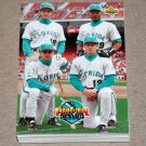 1993 UPPER DECK BASEBALL - Florida Marlins Team Set (Series 1 & 2)
