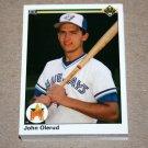1990 UPPER DECK BASEBALL - Toronto Blue Jays Team Set + High Number Series