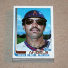 1982 TOPPS BASEBALL - California Angels Team Set + Traded Series