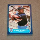 1986 FLEER BASEBALL - Minnesota Twins Team Set + Update Series