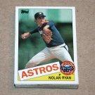 1985 TOPPS BASEBALL - Houston Astros Team Set + Traded Series