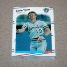 1988 FLEER BASEBALL - Milwaukee Brewers Team Set