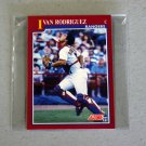 1991 SCORE BASEBALL - Texas Rangers Rookie & Traded Series