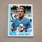 1982 TOPPS BASEBALL - Kansas City Royals Team Set + Traded Series