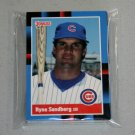 1988 DONRUSS BASEBALL - Chicago Cubs Team Set