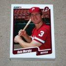 1990 FLEER BASEBALL - Philadelphia Phillies Team Set + Update Series