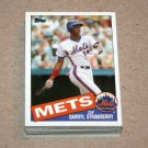 1985 TOPPS BASEBALL - New York Mets Team Set + Traded Series