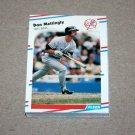 1988 FLEER BASEBALL - New York Yankees Team Set + Update Series