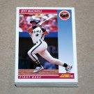1992 SCORE BASEBALL - Houston Astros Team Set + Rookie & Traded Series