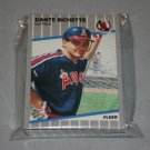 1989 FLEER BASEBALL - California Angels Team Set