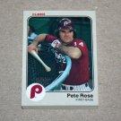 1983 FLEER BASEBALL - Philadelphia Phillies Team Set