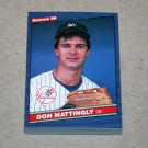 1986 DONRUSS BASEBALL - New York Yankees Team Set