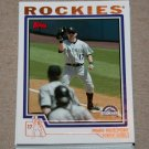 2004 TOPPS BASEBALL - Colorado Rockies Team Set (Series 1 & 2)