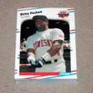 1988 FLEER BASEBALL - Minnesota Twins Team Set