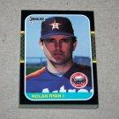 1987 DONRUSS BASEBALL - Houston Astros Team Set