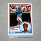 1983 TOPPS BASEBALL - New York Mets Team Set + Traded Series