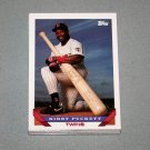 1993 TOPPS BASEBALL - Minnesota Twins True Team Set with Traded Series