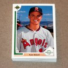1991 UPPER DECK BASEBALL - California Angels Team Set + High Number Series