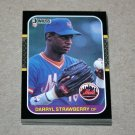 1987 DONRUSS BASEBALL - New York Mets Team Set