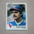 1983 FLEER BASEBALL - Texas Rangers Team Set