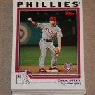2004 TOPPS BASEBALL - Philadelphia Phillies Team Set (Series 1 & 2)