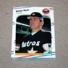 1988 FLEER BASEBALL - Houston Astros Team Set
