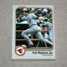 1983 FLEER BASEBALL - Baltimore Orioles Team Set