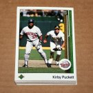 1989 UPPER DECK BASEBALL - Minnesota Twins Team Set + High Number Series