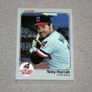 1983 FLEER BASEBALL - Cleveland Indians Team Set
