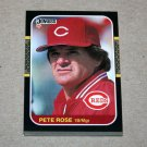 1987 DONRUSS BASEBALL - Cincinnati Reds Team Set