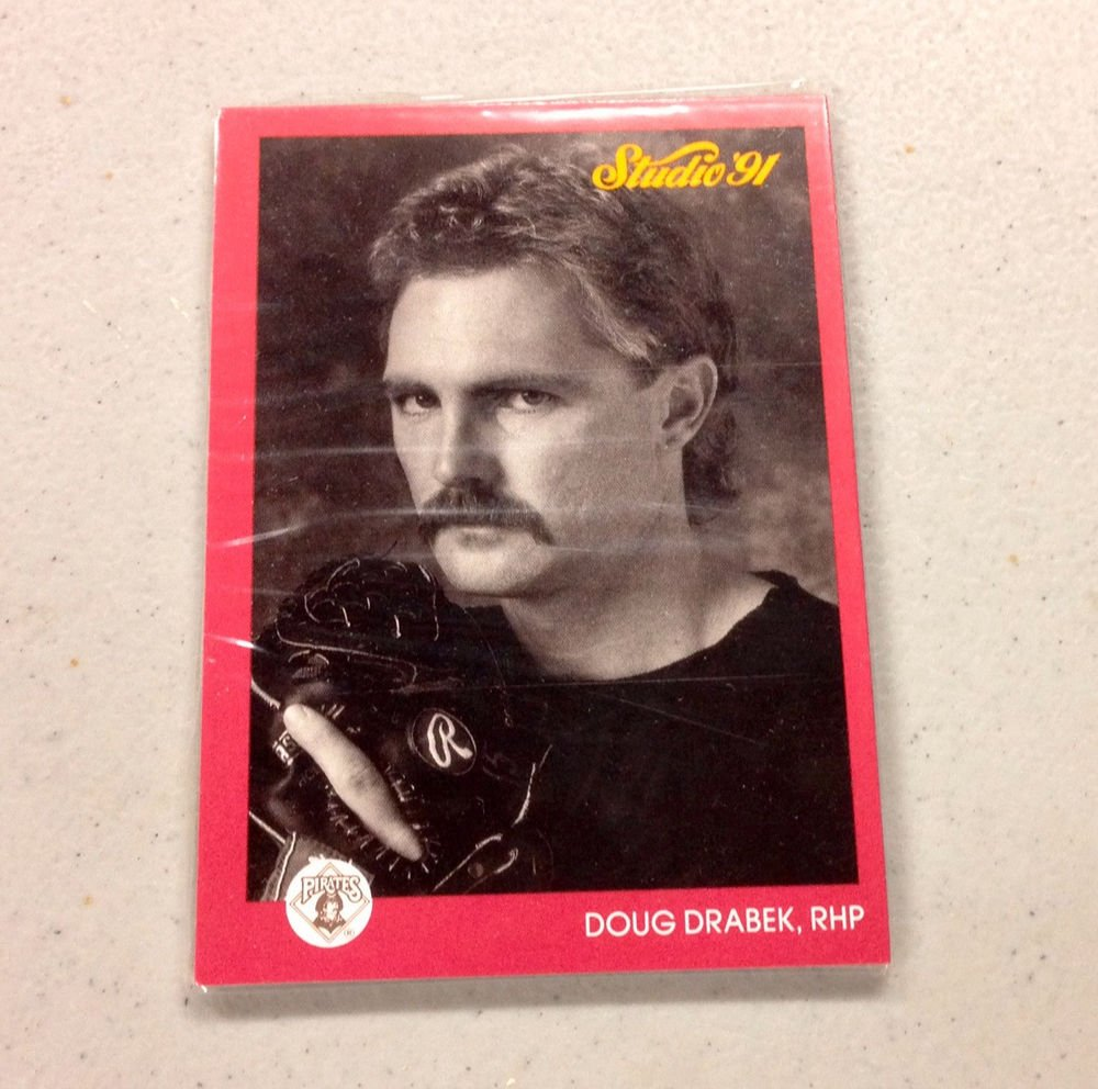Sealed Pack of (4) 1991 LEAF STUDIO - Preview Cards