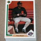 1991 UPPER DECK BASEBALL - San Diego Padres True Team Set (Low/High/Final)