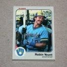 1983 FLEER BASEBALL - Milwaukee Brewers Team Set