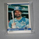 1984 FLEER BASEBALL - Seattle Mariners Team Set