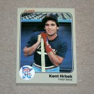 1983 FLEER BASEBALL - Minnesota Twins Team Set