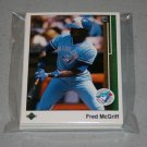 1989 UPPER DECK BASEBALL - Toronto Blue Jays Team Set + High Number Series
