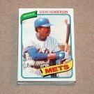 1980 TOPPS BASEBALL - New York Mets Team Set