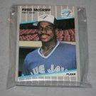 1989 FLEER BASEBALL - Toronto Blue Jays Team Set