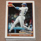 1991 TOPPS BASEBALL - Seattle Mariners Team Set + Traded Series